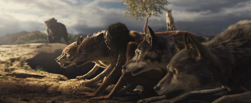 Mogli und sein Rudel in Mogli - Legende des Dschungels. © Netflix