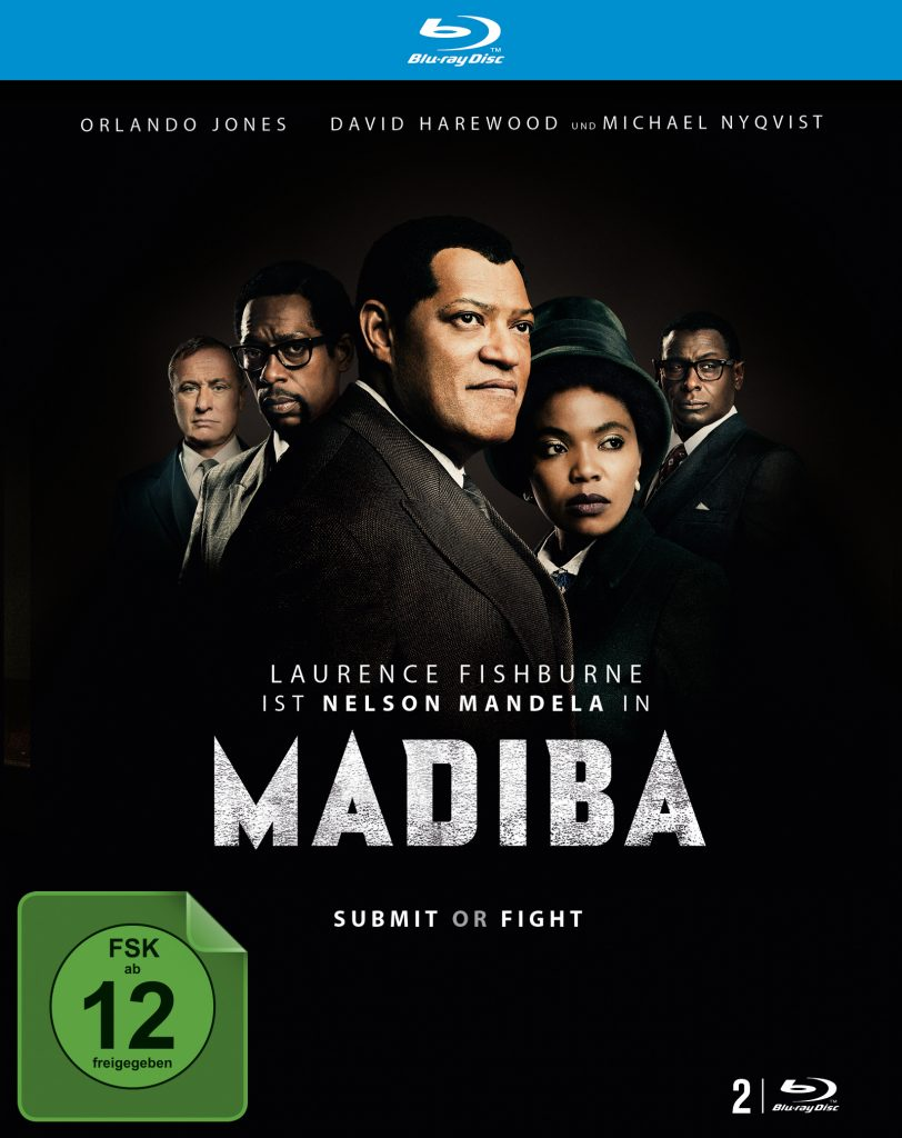"Blu-ray Cover von ""Madiba"" © justbridge entertainment"
