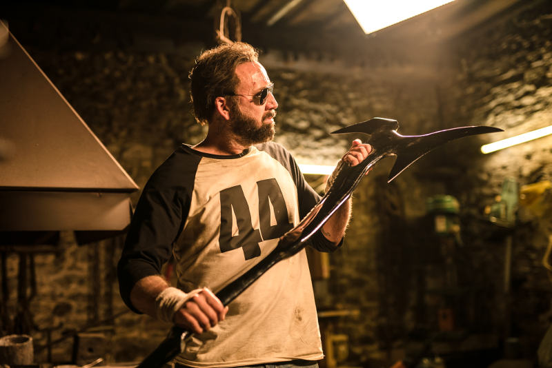 Colour Out of Space mit Nicholas Cage bettelt nach einem Vergleich zu Mandy? © 2018 Koch Films