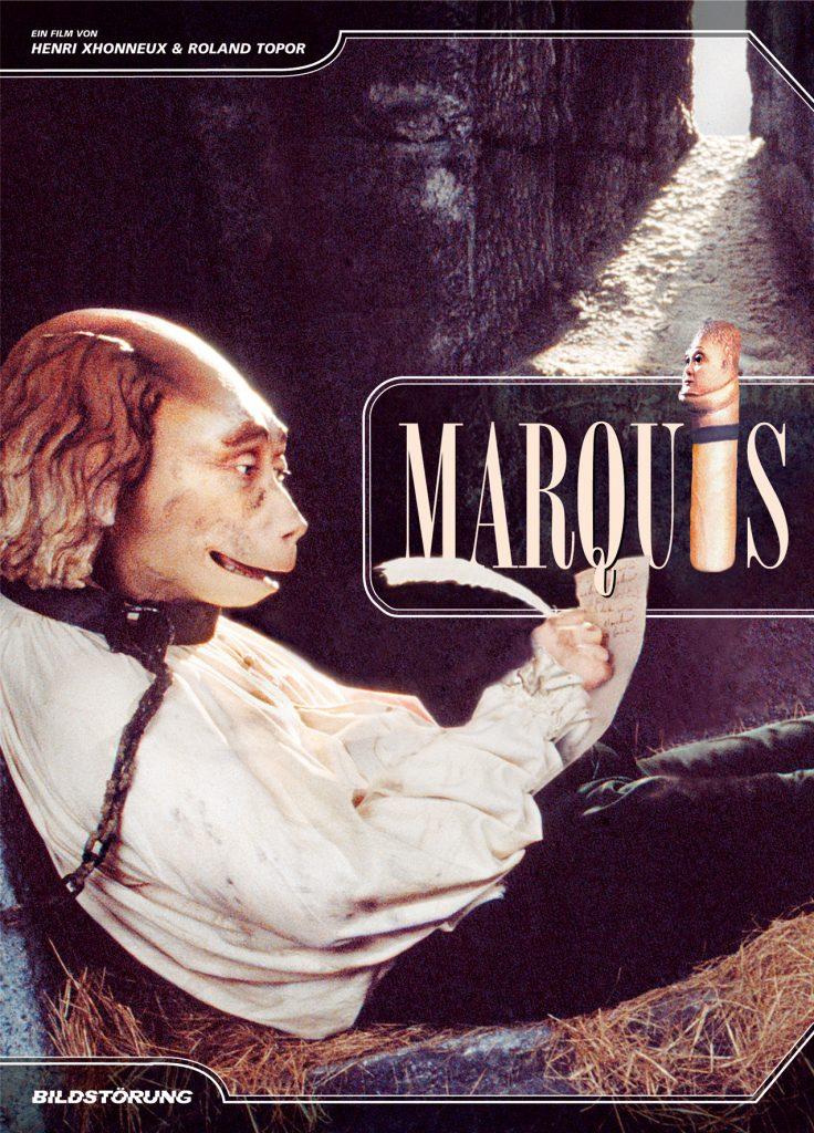 Cover des DropOut #3 | MARQUIS © 2008 BILDSTÖRUNG