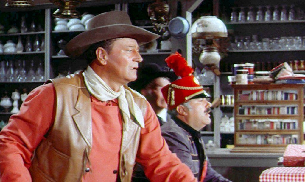John Wayne ist gespannt in McLintock!