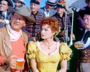 John Wayne und Maureen O'Hara in McLintock!