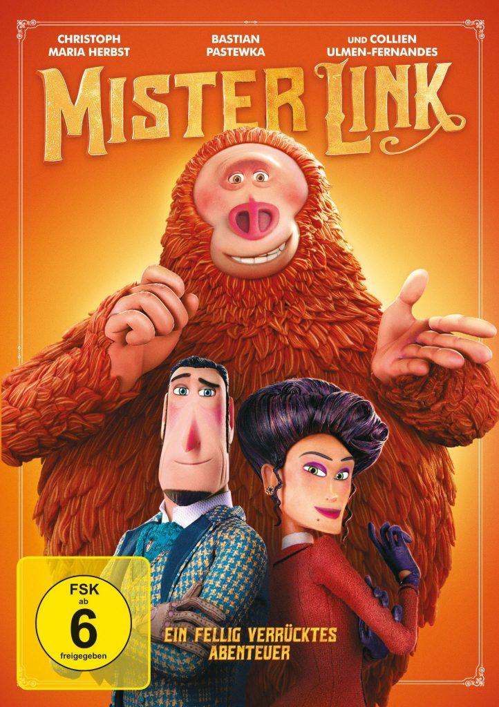 Cover zu Mister Link - Ein fellig verrücktes Abenteuer