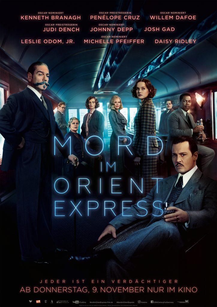 """Filmplakat von """"Mord im Orient Express"""" by 20th Century Fox"""