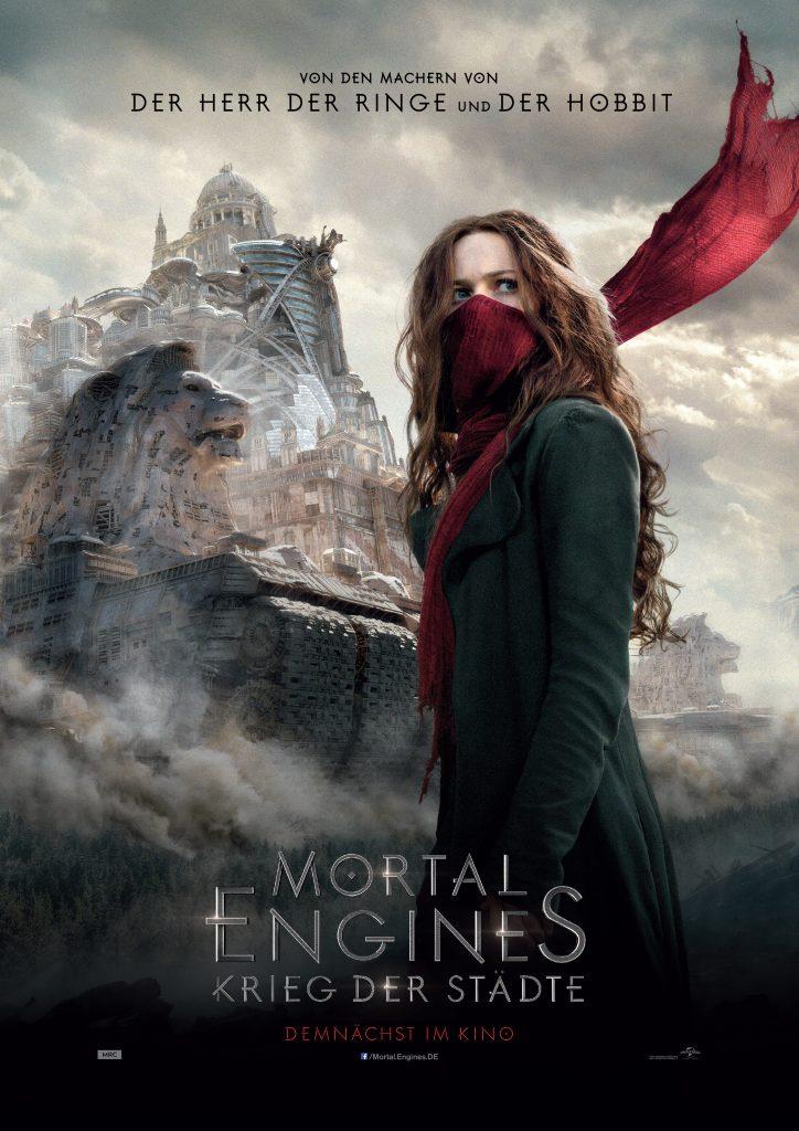 """Filmplakat zu """"Mortal Engines: Krieg der Städte"""" © Universal Pictures"""