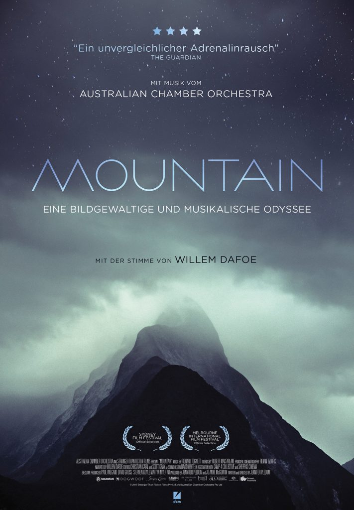 "Filmplakat von ""Mountain"" © DCM Film Distribution"