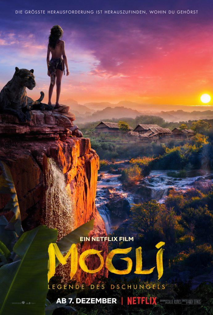 Das offizielle Poster von Mogli - Legende des Dschungels. © N