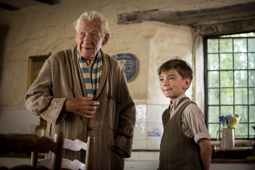 Mr. Holmes (Ian McKellen) und der kleine Roger (Milo Parker)