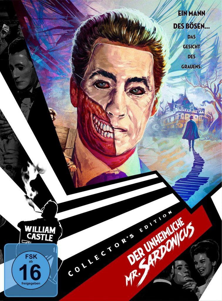 Das deutsche Cover zu Der unheimliche Mr. Sardonicus