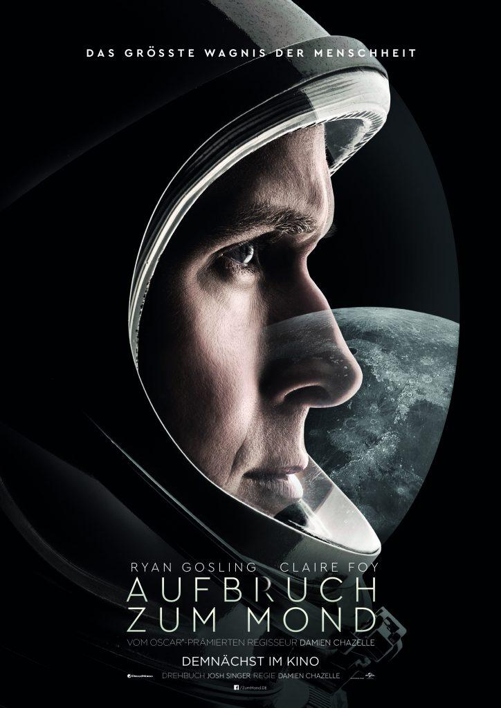 Offizielles Filmplakat zu Aufbruch zum Mond © 2018 Universal Pictures International