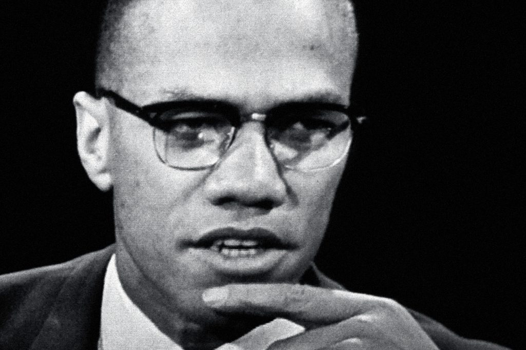 "Malcom X in ""I Am Not Your Negro"""