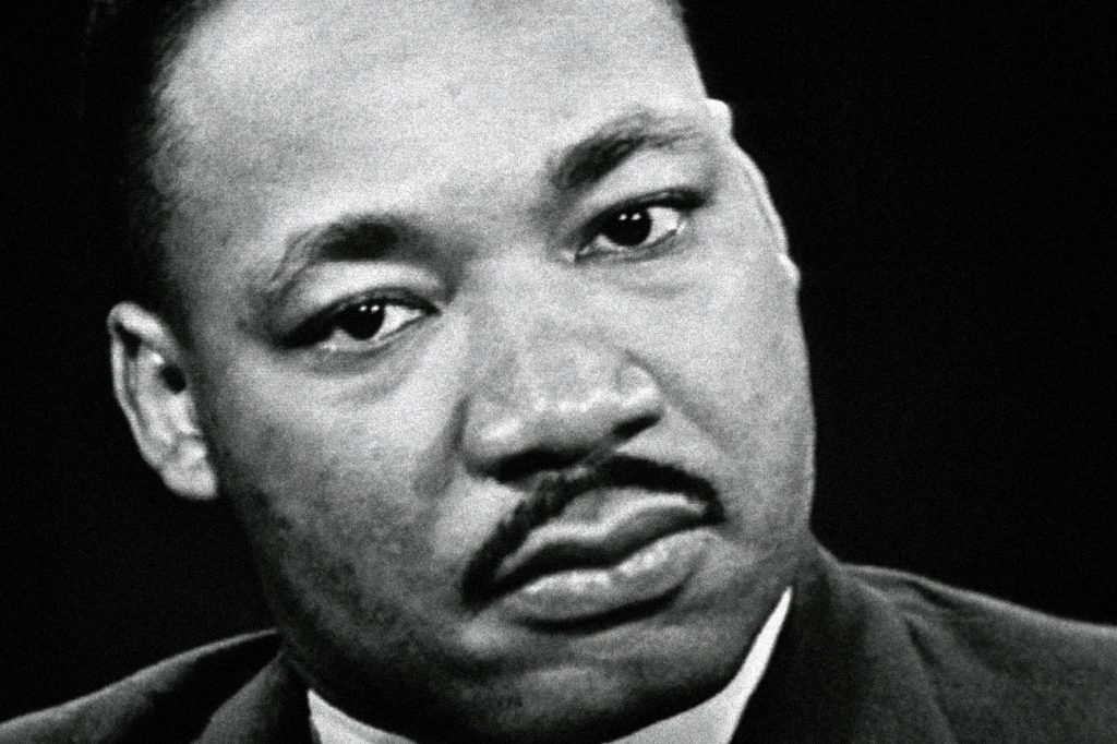 "Martin Luther King in ""I Am Not Your Negro"""