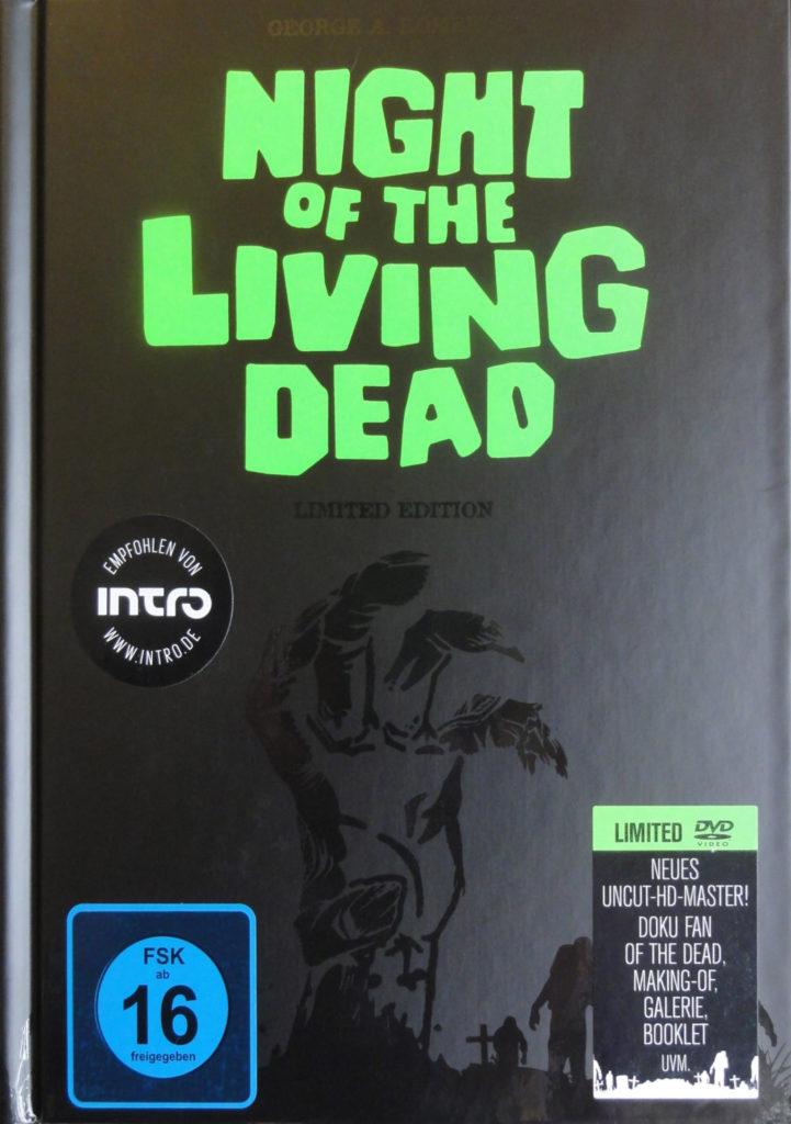 Mediabook-Cover von Die Nacht der lebenden Toten