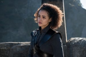 Nathalie Emmanuel in Game of Thrones Staffel 7 aus 2017