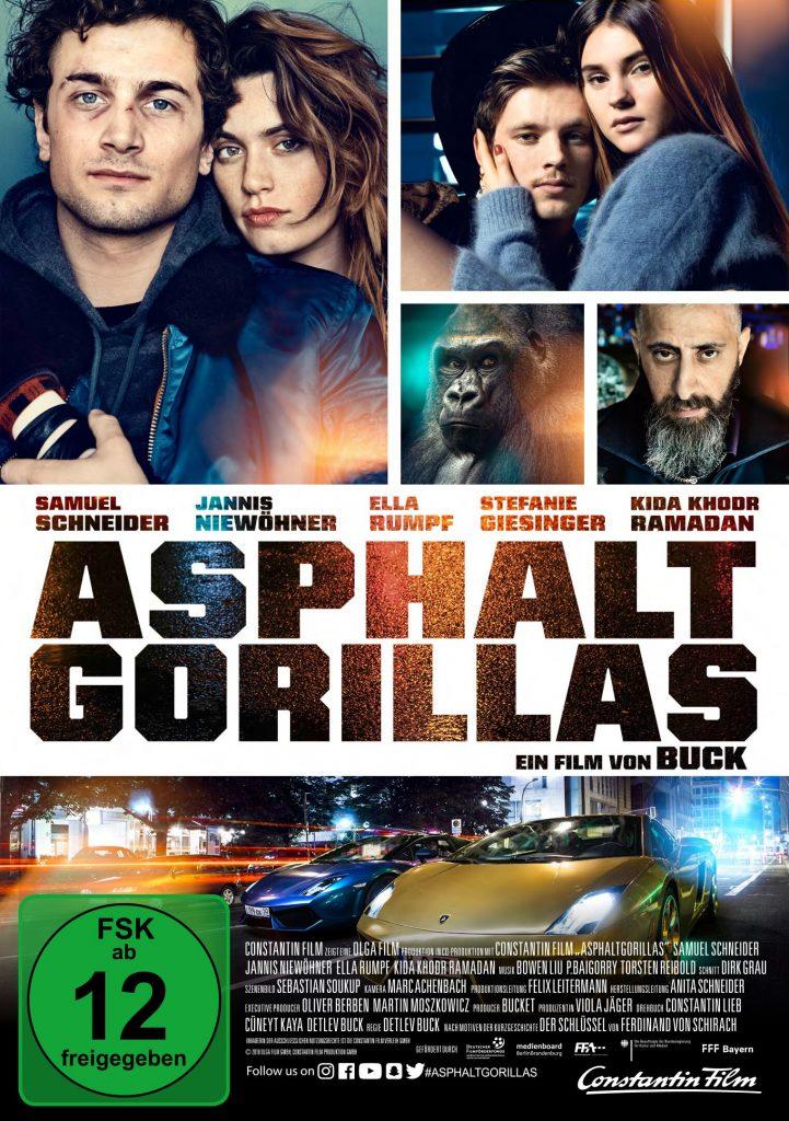 Offizielles Poster zu Asphaltgorillas, erhältlich auf DVD & Bluray (© Constantin Film)