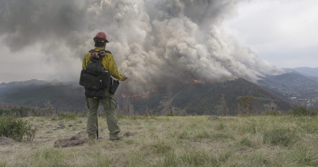 Die Feuersbrunst nimmt ein bedrohliches Ausmaß an ©StudioCanal