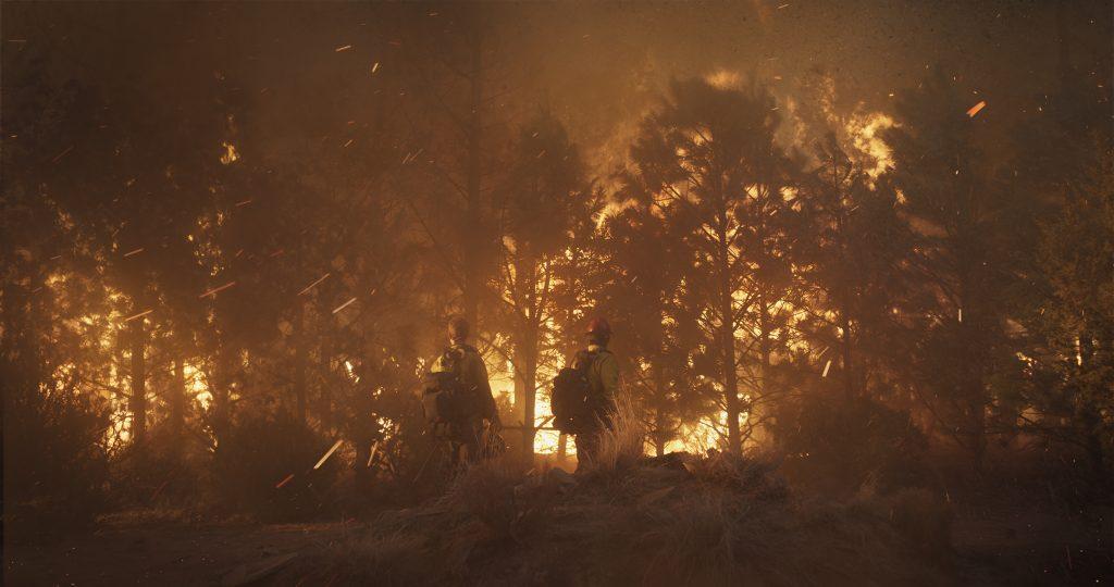 Die Crew kommt dem Feuer oft gefährlich nah ©StudioCanal