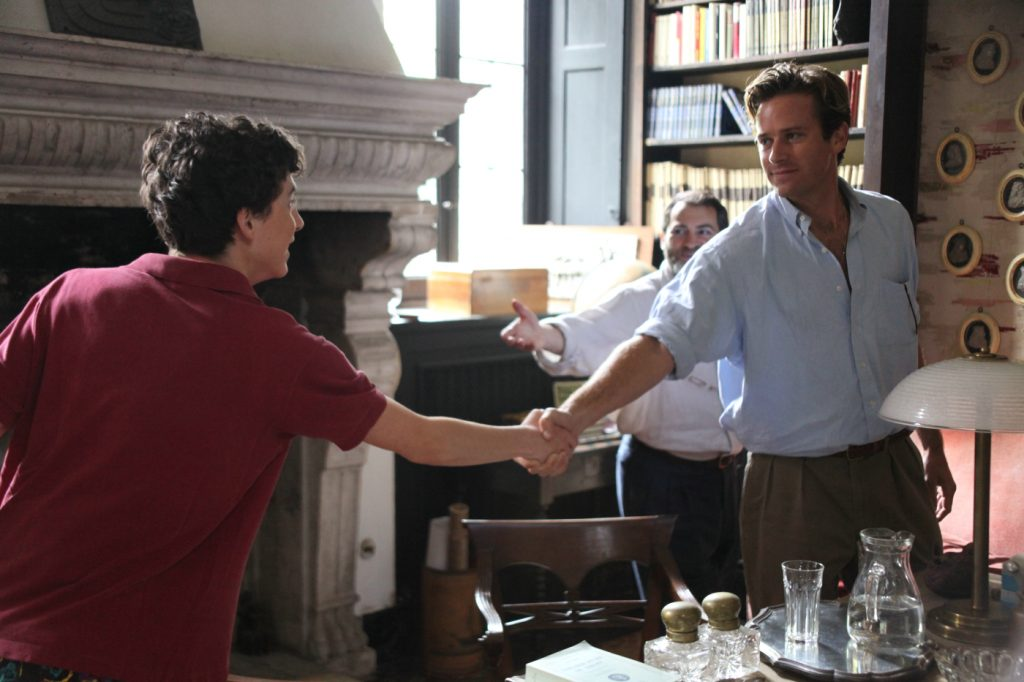 Oscarnominierter Film Call Me By Your Name mit Timothée Chalamet und Armie Hammer