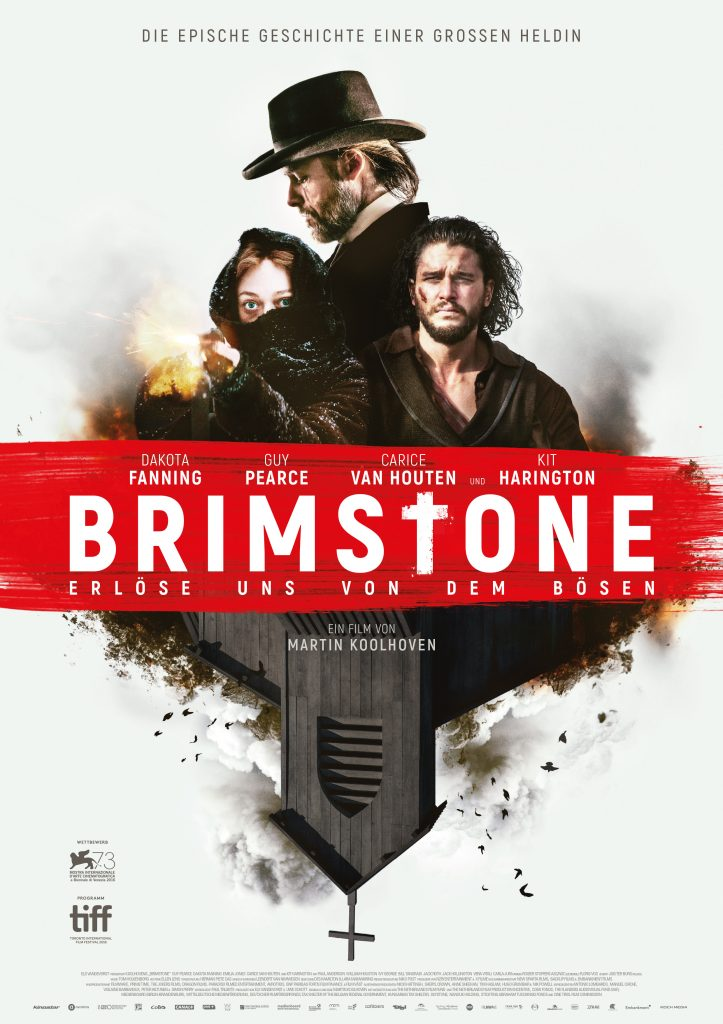 Offiziells Plakat zu Brimstone
