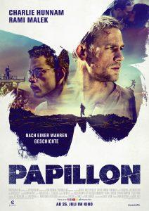 """Offizielles Filmplakat zu """"Papillon"""" © Constantin Film"""