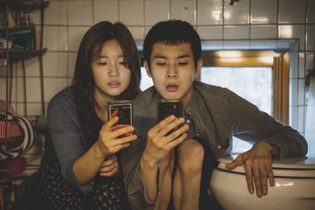 Die Geschwister Kim jagen in Parasite nach dem WLAN