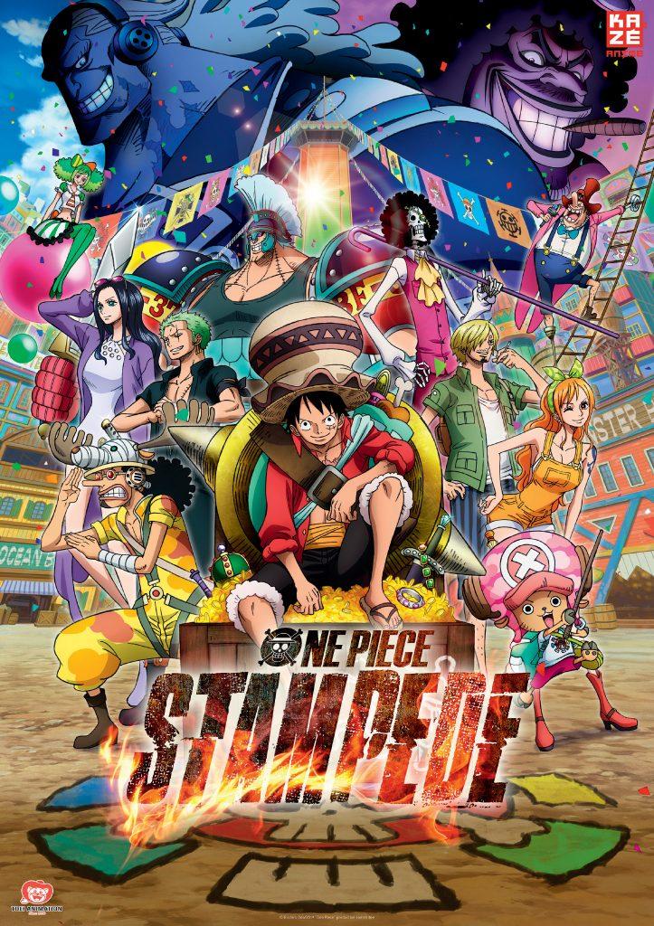Offizielles Poster zu One Piece: Stampede © Kazé