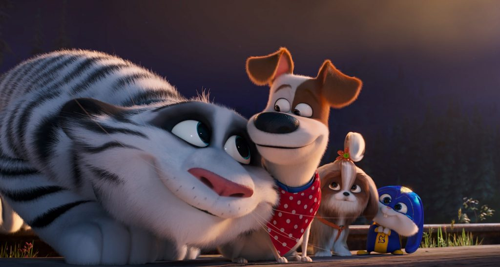 Am Ende laufen die Handlungen zusammen in Pets 2 © Illumination Entertainment and Universal Pictures