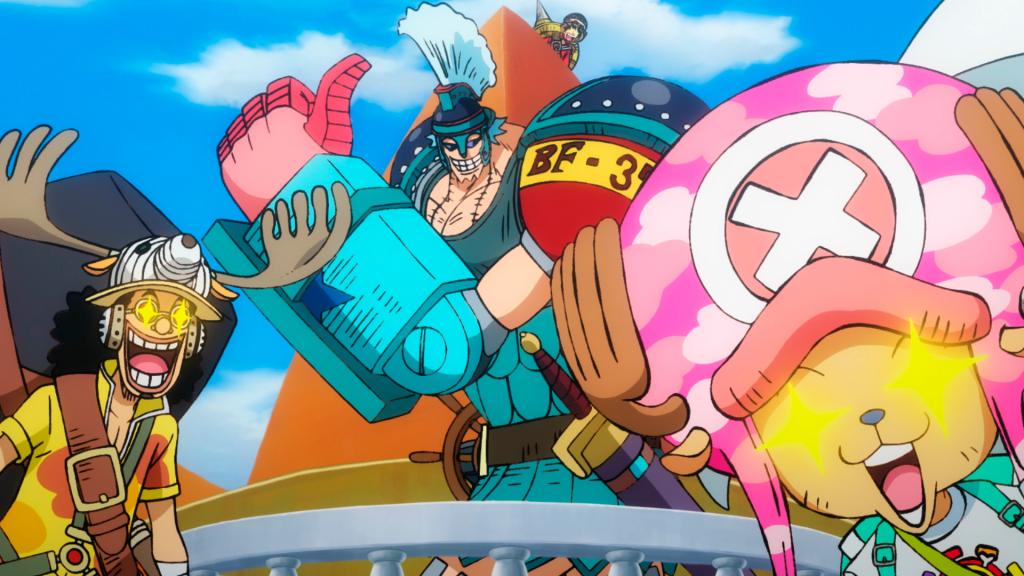Franky als Zenturio? In One Piece: Stampede ist alles möglich © Kazé