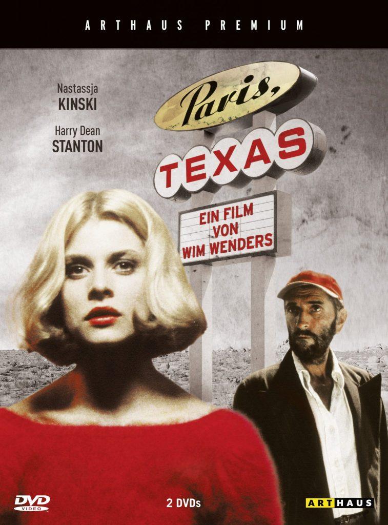 Cover zur DVD von Paris, Texas