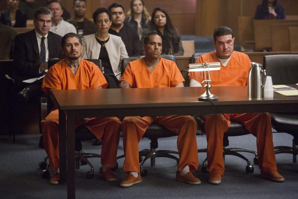 Die Angeklagten sind Mitglieder der berüchtigten MS-13-Gang | PEPPERMINT © Universum