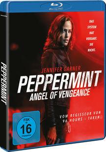 Das Cover der deutschen Blu-ray. | PEPPERMINT © Universum
