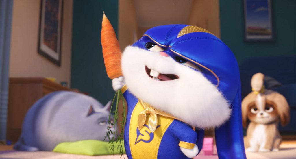Captain Snowball auf großer Mission in Pets 2 © Illumination Entertainment and Universal Pictures