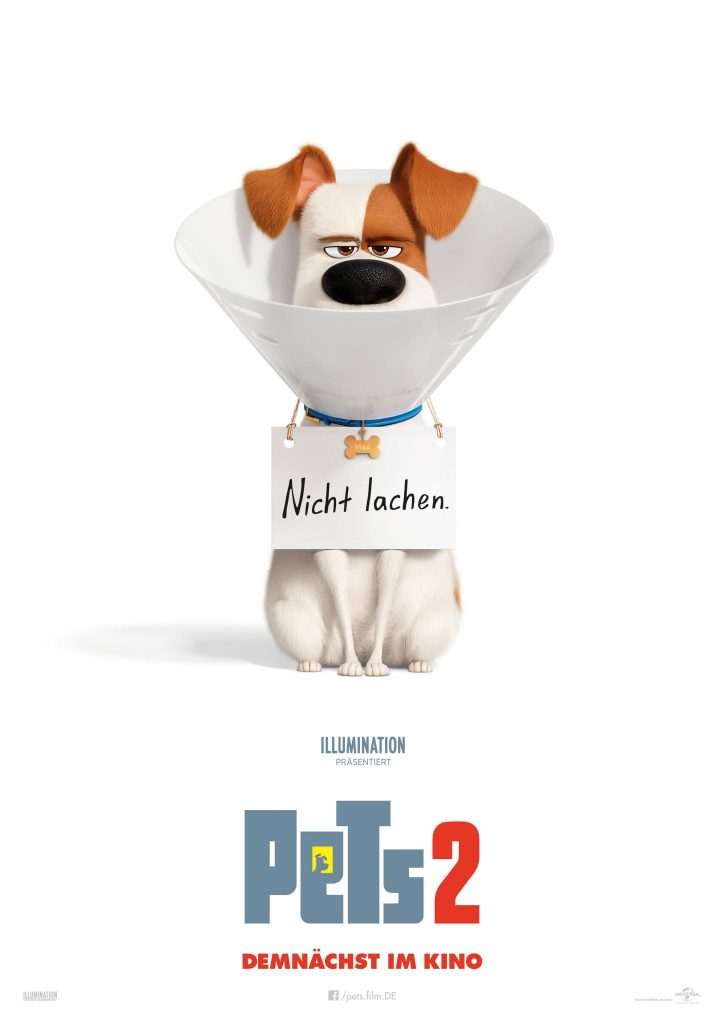 Das Kinoplakat zu Pets 2 © Illumination Entertainment and Universal Pictures