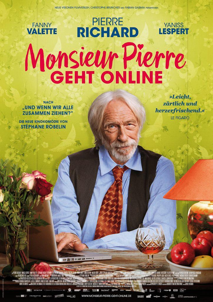Plakat zu Monsieur Pierre geht Online aus 2017 von ©Neue Visionen Filmverleih GmbH