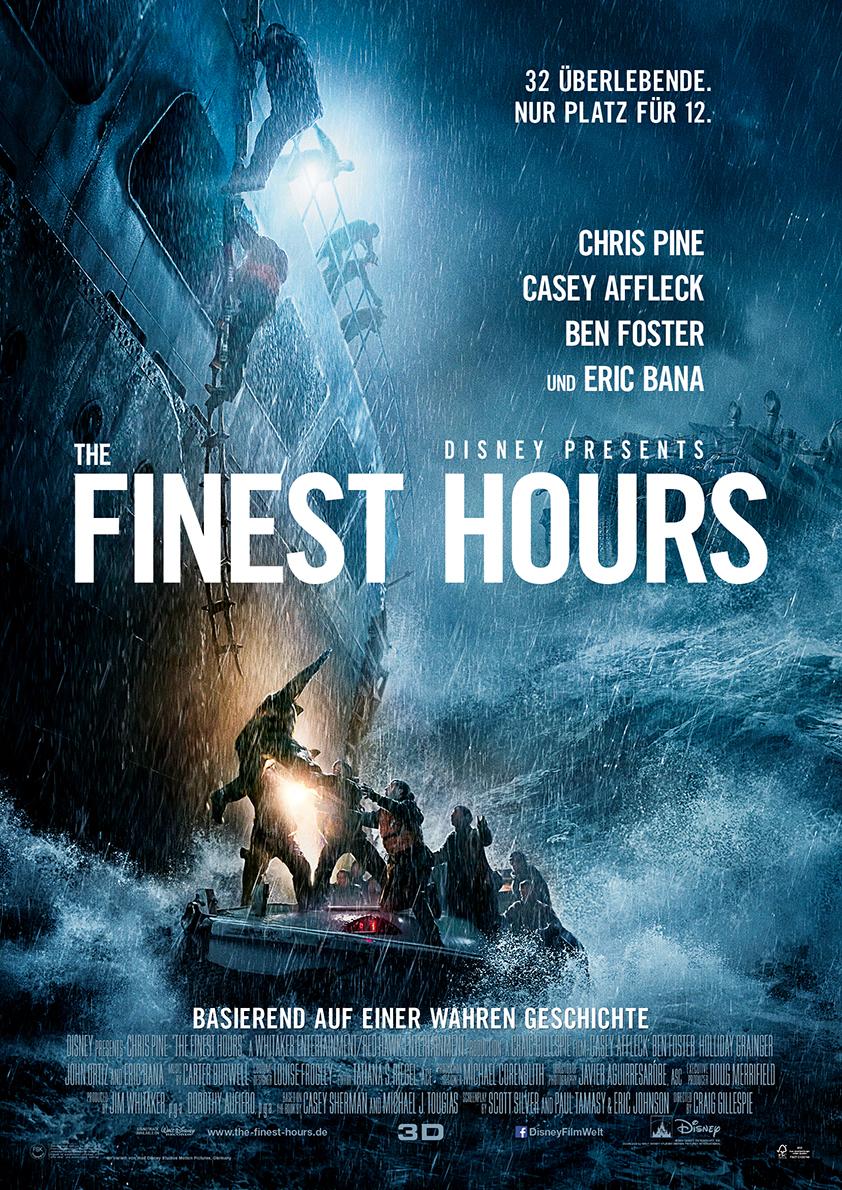 "Plakat zu ""The Finest Hours"" von 2016. ©Disney Enterprises, Inc. All Rights Reserved."