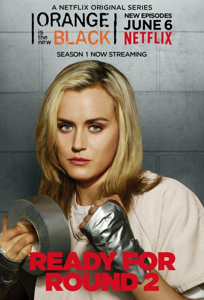 Plakat zur zweiten Staffel von Orange is the new Black © Netflix