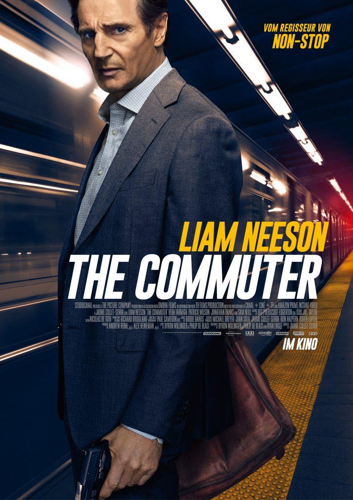 """Filmplakat zu """"The Commuter"""" © StudioCanal"""