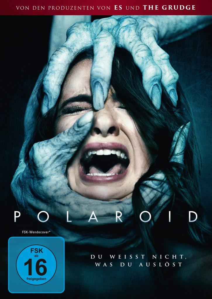 Das DVD-Cover von Polaroid. Der schreckliche Zusatztitel darf gerne ignoriert werden. © Capelight Pictures