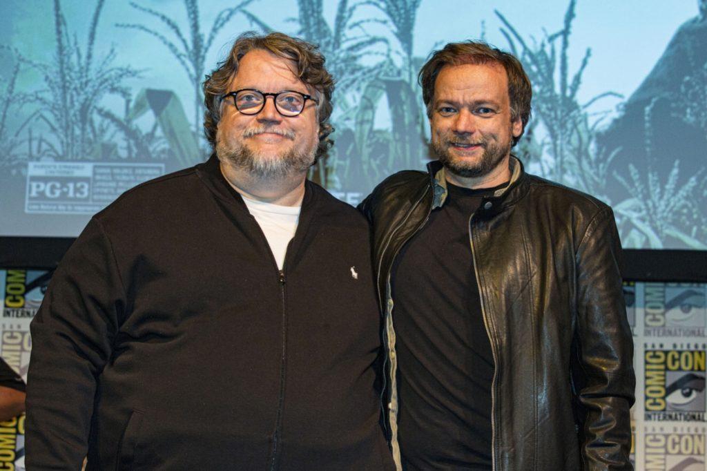 Produzent Guillermo del Toro und Regisseur André Øvredal © 2019 eOne Germany