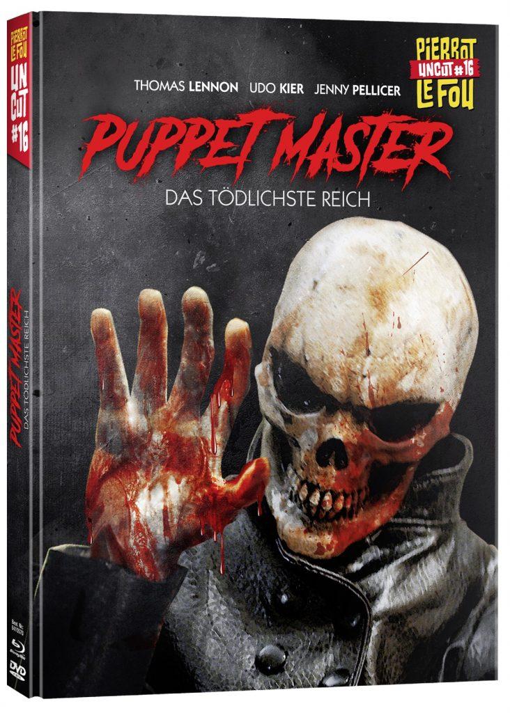 Das Cover des deutschen Mediabooks. © PierrotLeFou