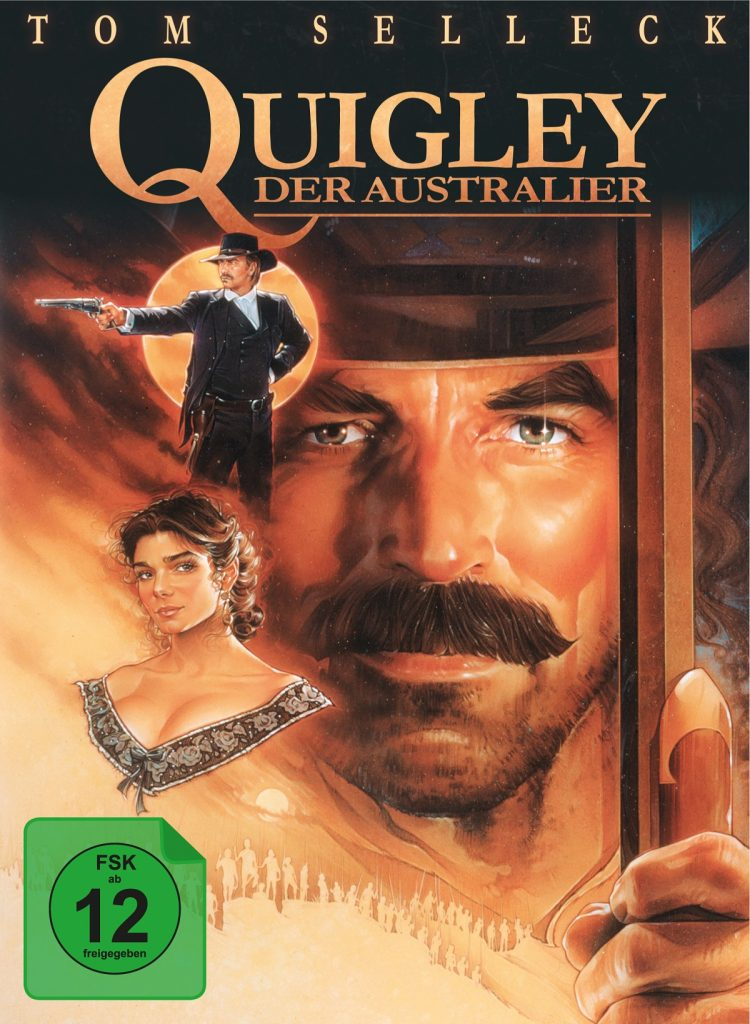 Cover Quigley der Australier © Capelight Pictures