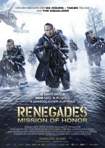 "Offizielles Filmplakat zu ""Renegades: Mission of Honor"" © Universum Film"