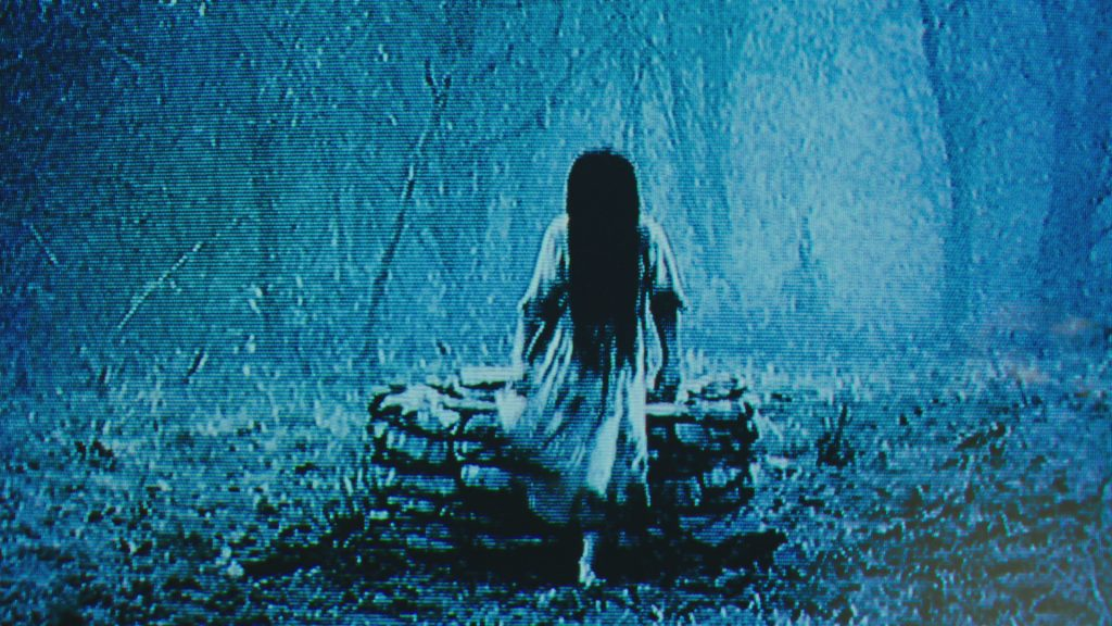 Samara (Bonnie Morgan ) in RINGS. © Paramount Pictures