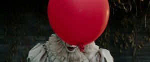 Red Balloons and Pennywise in IT