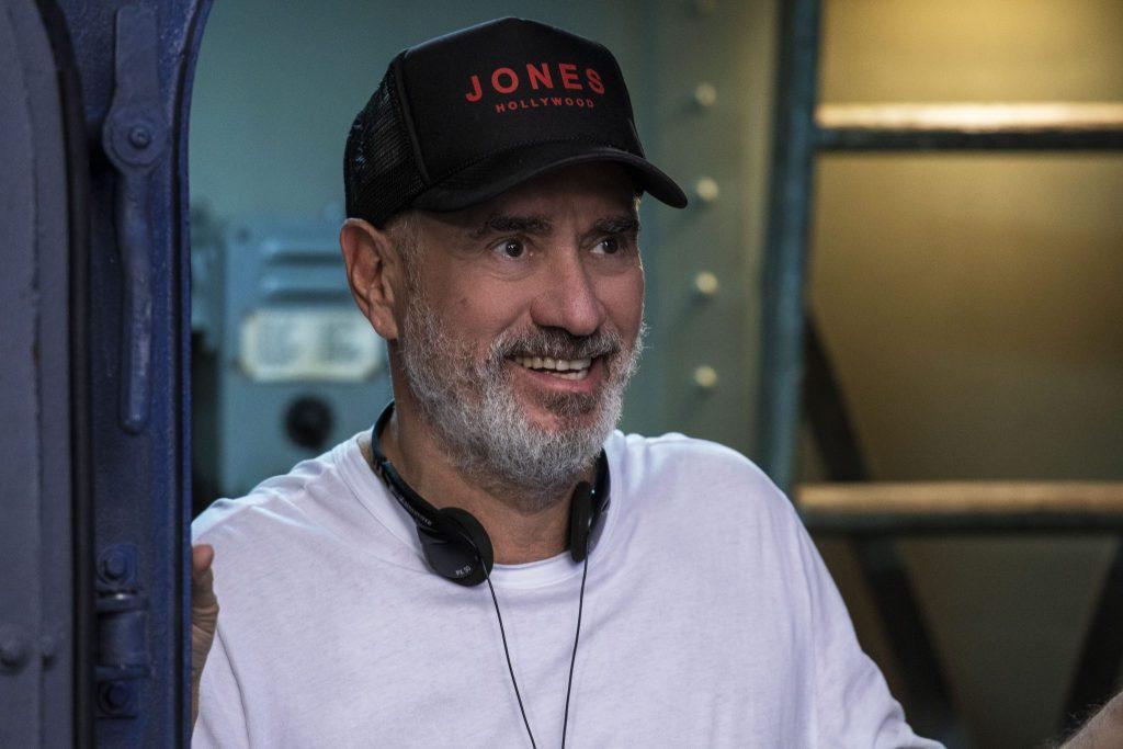 Regisseur Roland Emmerich bei den Dreharbieten zu Midway - Für die Freiheit © 2019 Universum Film