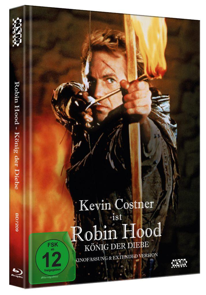 Das Mediabook von Robin Hood - König der Diebe