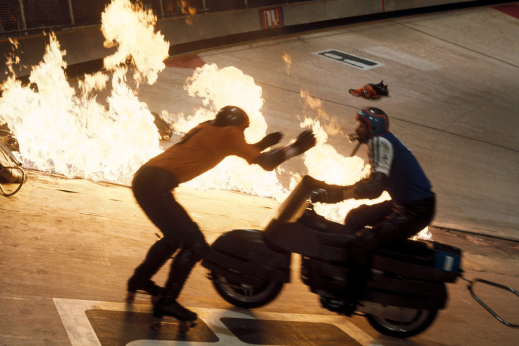 Brutale Action in der Rollerball-Arena
