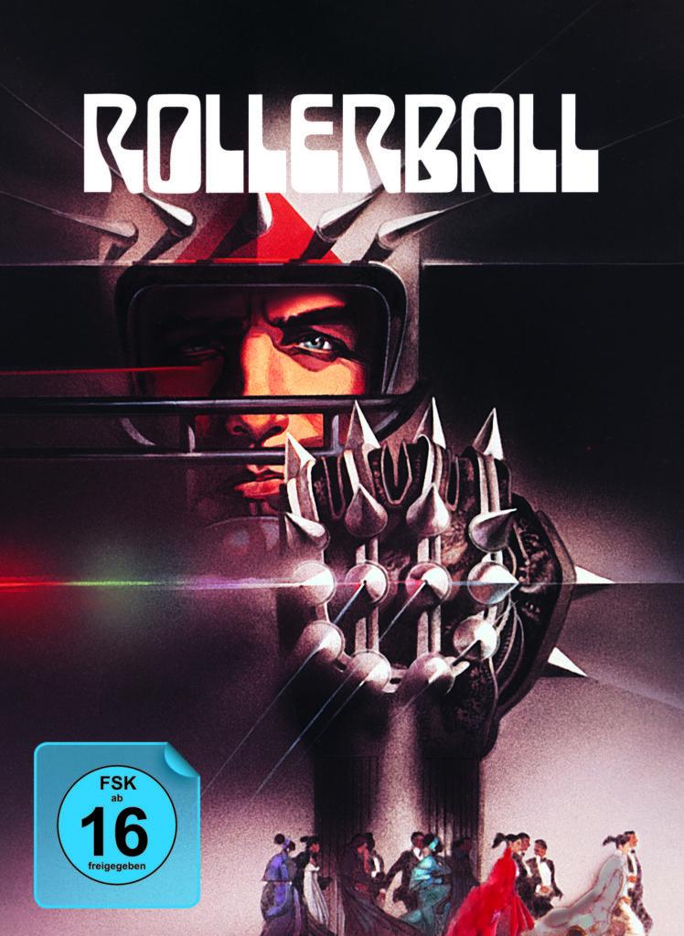 Mediabook Cover von Rollerball