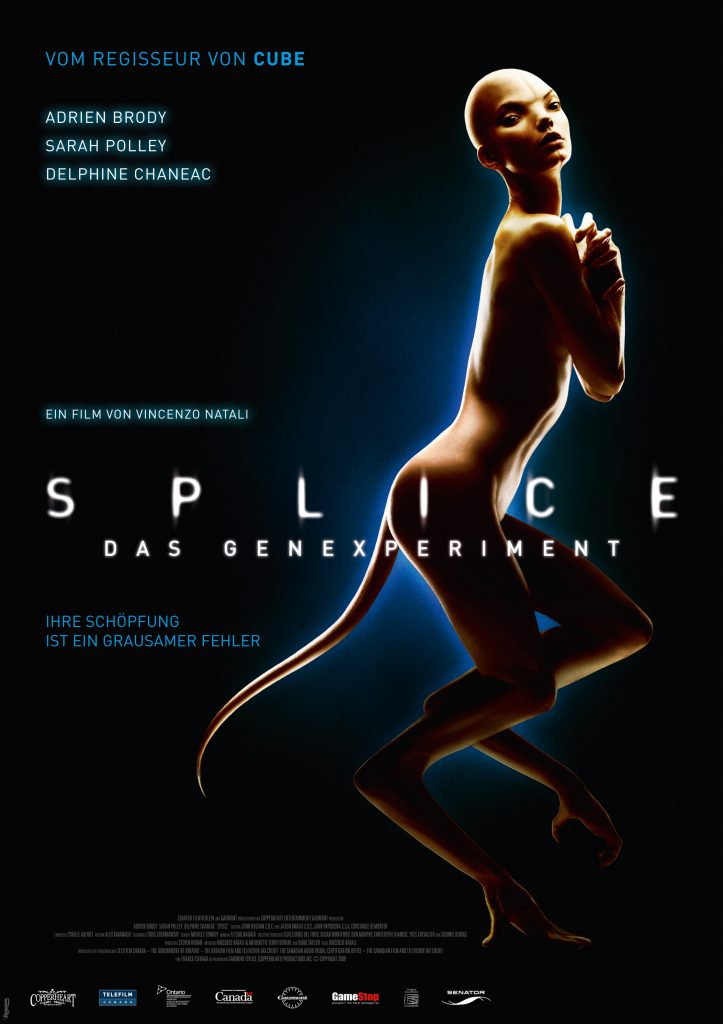 Das Cover von Splice. © Senator Filmverleih