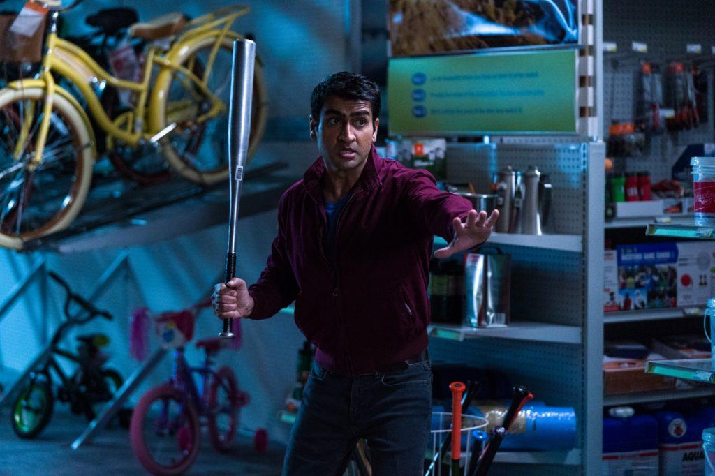 Stu Prasad (Kumail Nanjiani) verteidigt sich, Stuber - 5 Sterne Undercover